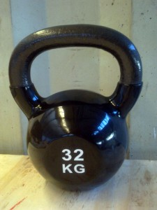 Kettlebell 32kg www.sportnaoprema.si