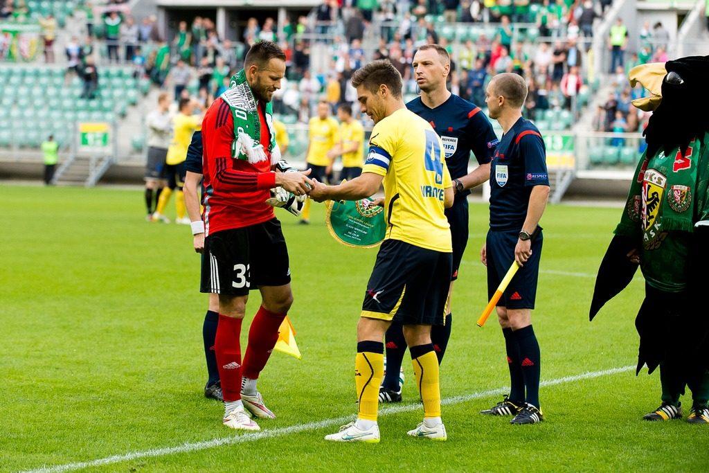 SLASK WROCLAW POLSKA vs NK CELJE SLOWENIA
