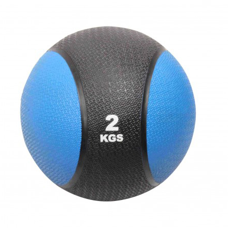 dvobarvna medicinska žoga 2 kg www.sportnaoprema.si